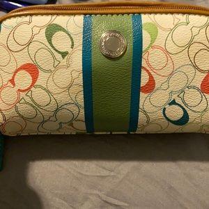 Super cute Coach Cosmetic bag